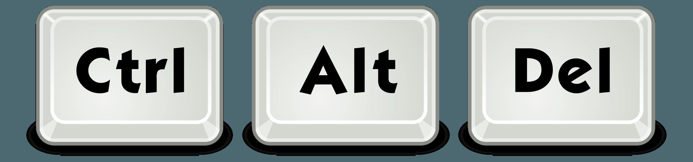 how to do ctrl alt delete from remote desktop